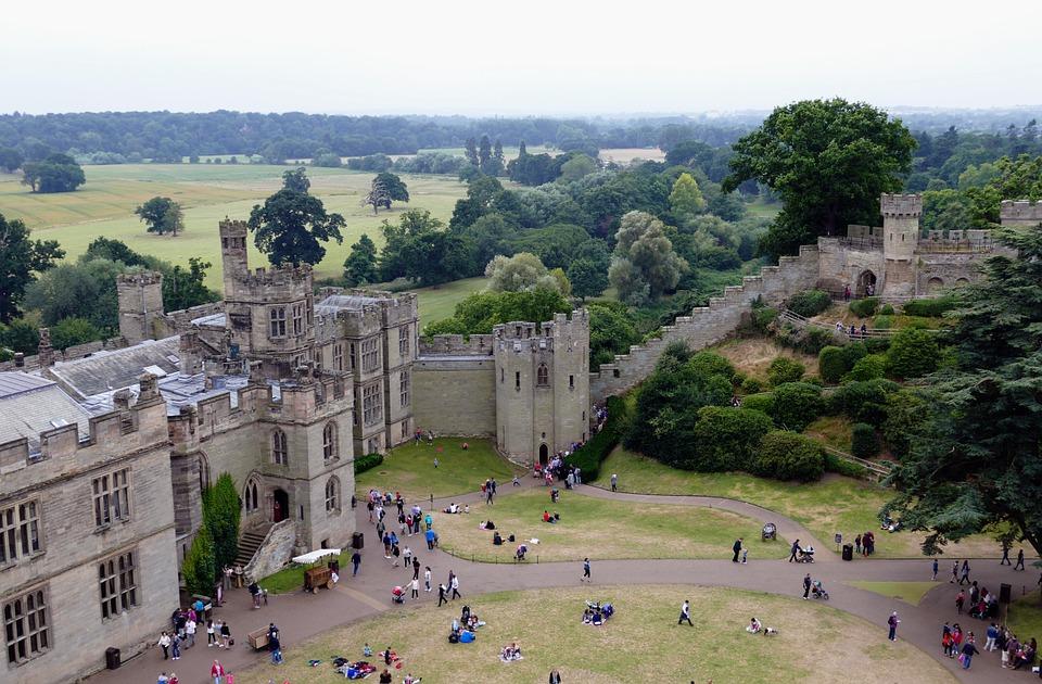 Warwick Castle (fot. pixabay.com)