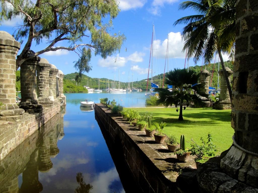 Historyczne doki na wyspie Antigua (fot. UNESCO)