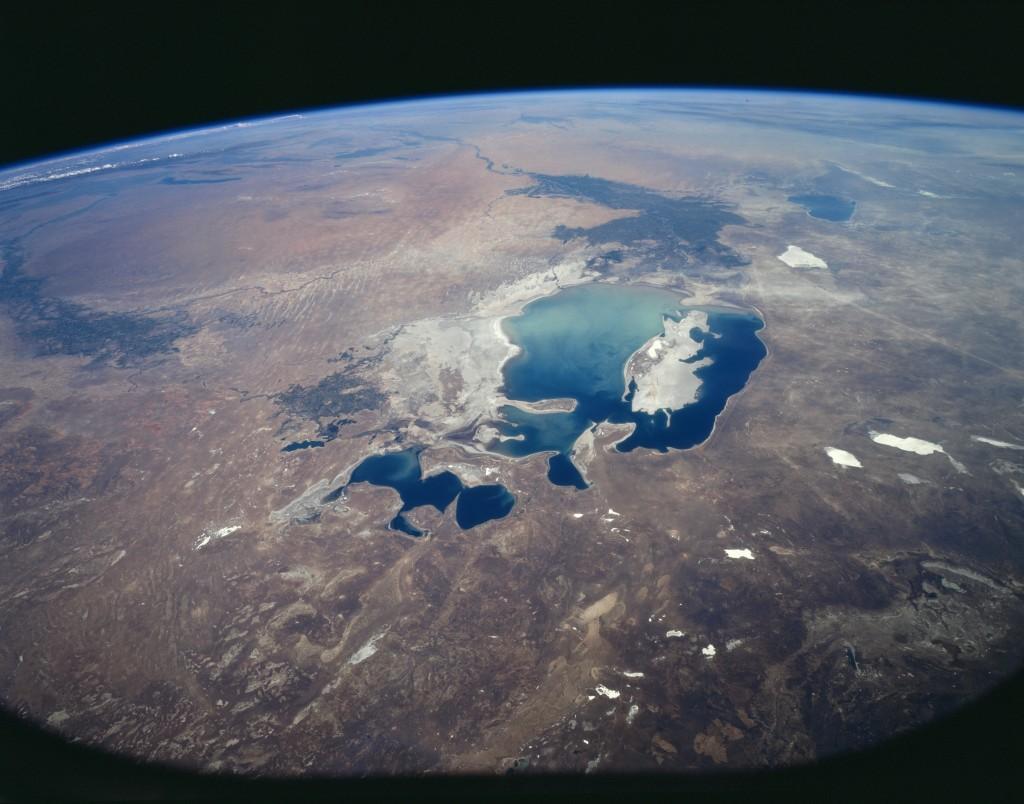 Zdjęcie satelitarne z 1997 roku (fot. commons.wikimedia.org)