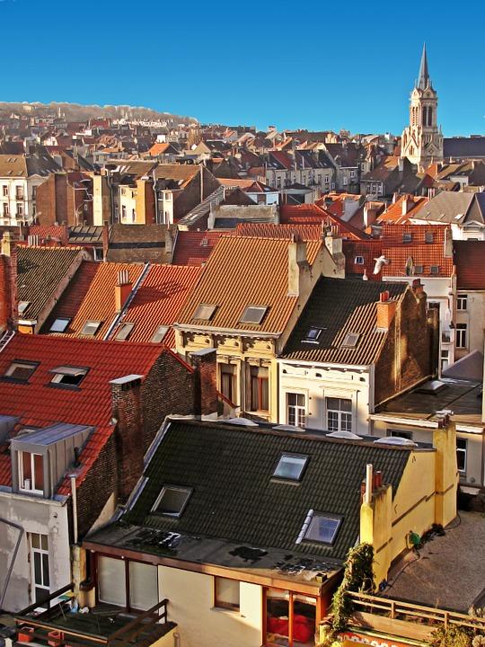 Na dachach Brukseli (fot. pixabay.com)
