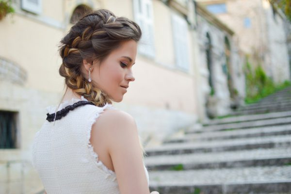proste fryzury na wesele