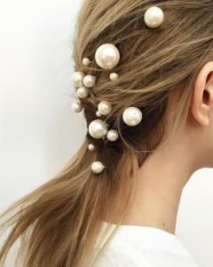 Perłowe stylizacje