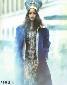 Rihanna w Vogue Arabia