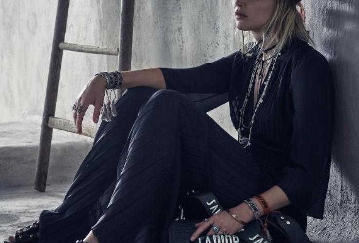 Jenifer Lawrence w kampanii Diora