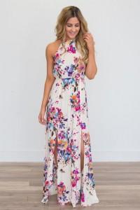 Kwiatowe sukienki