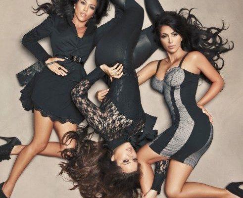 W stylu Kardashianek