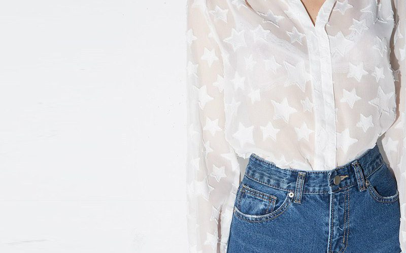 koszule w gwiazdki