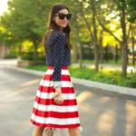 Ubrania w amerykańskim stylu