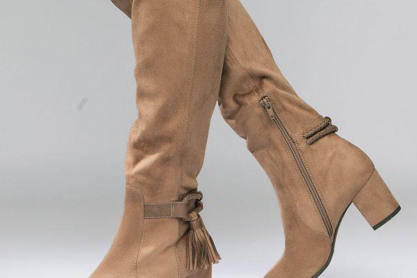 Buty z szeroką cholewką powracają