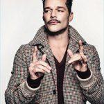 Męskie stylizacje z płaszczem