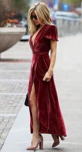 Sukienki z aksamitu