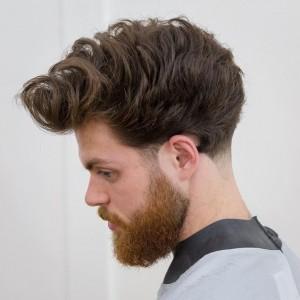 Męskie fryzury 2018