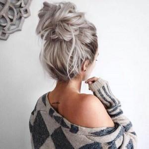 5 szybkich fryzur na zimę