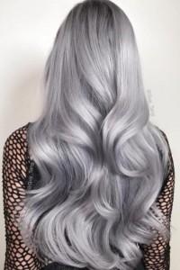 Metaliczne włosy