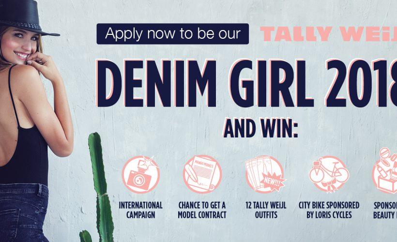 TALLY WEiJL z konkursem Denim girl 2018