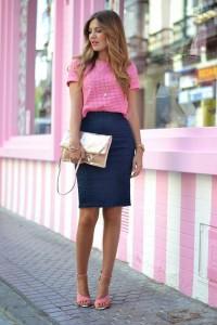 Jak nosić ołówkową spódnicę