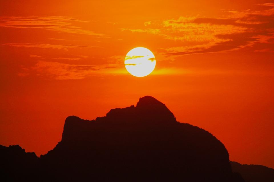 wyspa palawan_sunset