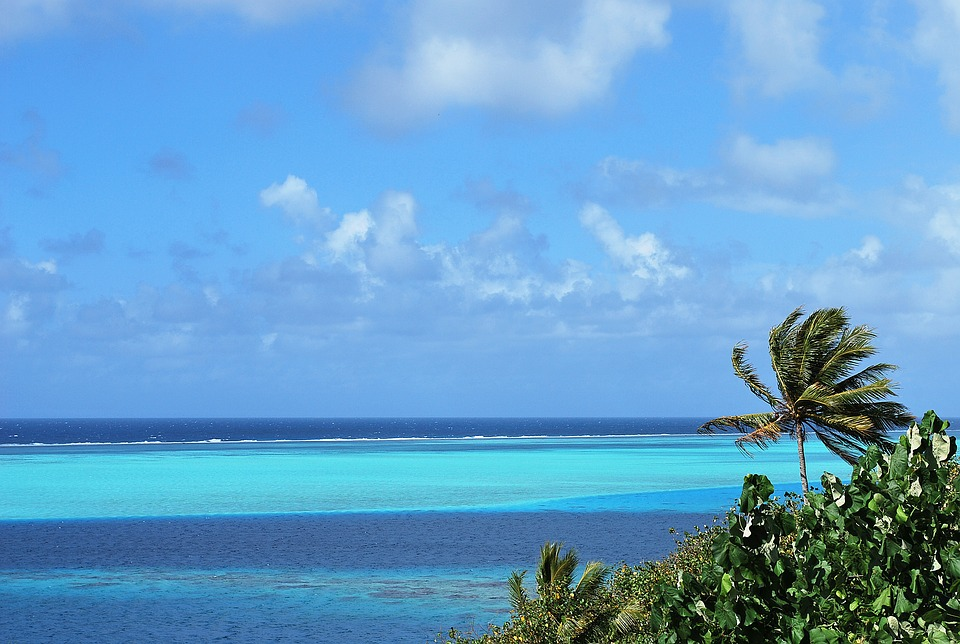 Tahiti laguna